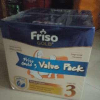 Friso Gold step 3 1.2kg x2 value pack