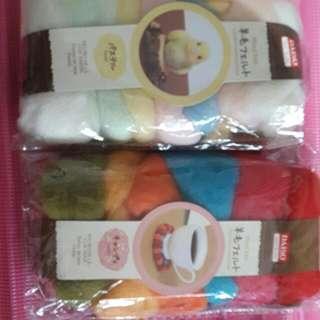 Daiso Felting Wool 2 packs