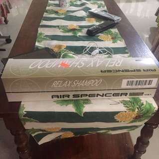 Air Spencer Relax Shampoo scent 1 box (10 pcs)