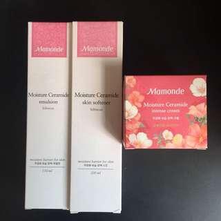 Mamonde Ceramide Emulsion, skin softener, moisturizer