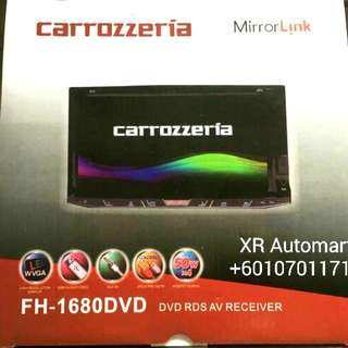 CARROZZERIA DVD TOUCH SCREEN PLAYER