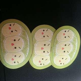 迪士尼豆豆貼紙