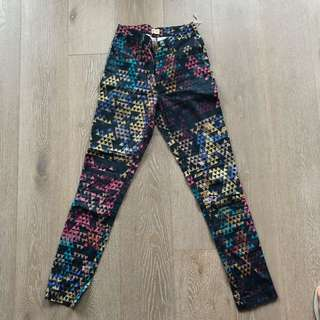 Gorman Print High Waist pants