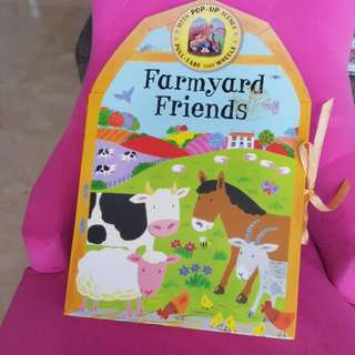 Farmyard Friends Popup Carousel Book