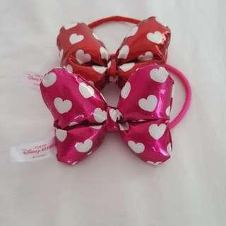 Disney Minnie mouse Hair Ties