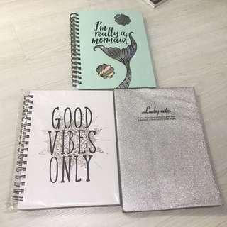 Notebooks, Typo, Etc