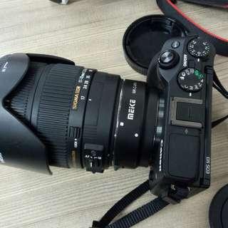 Eos m3 lengkap lens sigma 17-70mm f2.8 DC MACRO OS