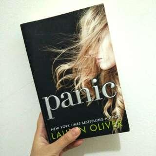 "ENGLISH BOOK ""PANIC"" LAUREN OLIVER"