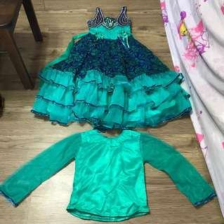 Cute Princess dress suitable for 5 to 8 years