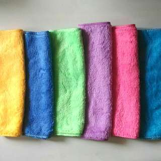 (Set of 6) 100% Cotton Cannon Hand Towel