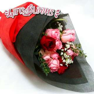 Valentine's Bouquet Vday Flower Gift Special V204 - BYUCQ