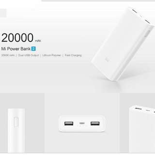 Xiaomi / Mi power bank 20000 mAh