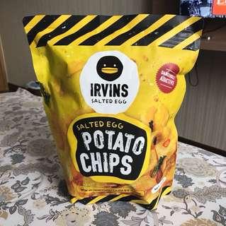 Irvins Salted Egg Chips - Large