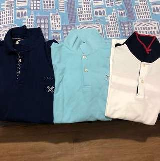 (3) Used Regatta Shirts