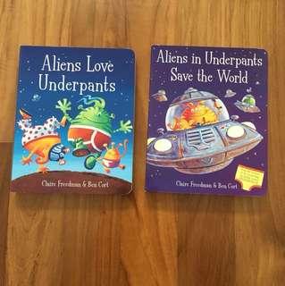 Aliens in Underpants x2