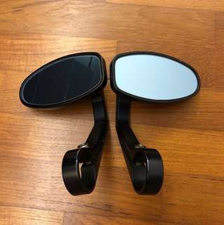 Rizoma reverse retro bar end mirrors (pair)