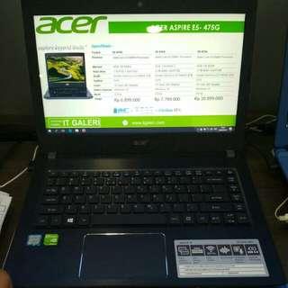 Acer Aspire E5- 475G