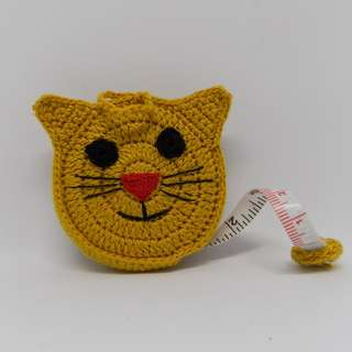 Crochet Cat Measuring Tape
