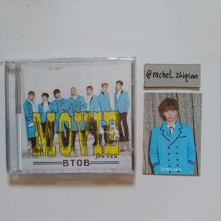 [READY STOCK] BTOB MOVIE JAPANESE ALBUM WITH SUNGJAE PHOTOCARD