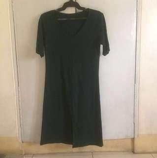 Front-slit dress