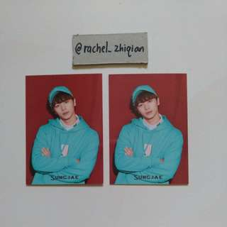 [READY STOCK] BTOB MOVIE JAPANESE ALBUM (LIMITED EDITION) SUNGJAE PHOTOCARD
