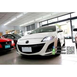 10年Mazda 3白