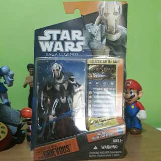 Star Wars General Grievous Saga Legends