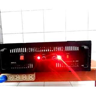 Ampli Rakitan 1000x2 Watt 10A Murni Cassing BELL M-900 KATAPANG SOREANG