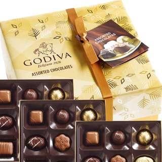 godiva assorted chocolates
