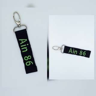 Multipurpose Embroidery Name Tag
