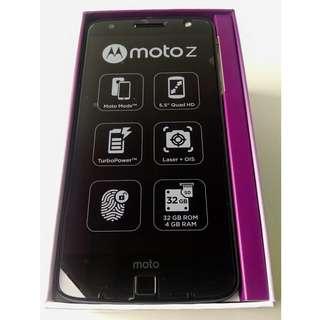 全新Moto Z智能手機(原包裝)New Motorola Moto Z smartphone (original box)
