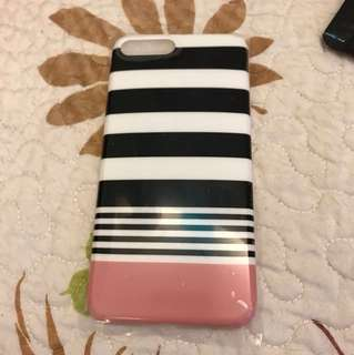 Stripe pattern iPhone plus case