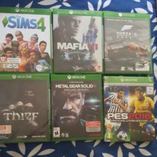 Xbox One Games Set