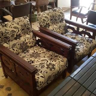 Sofa jati antik