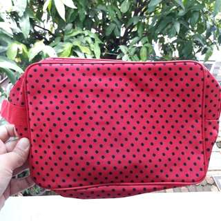 Red Dots Pouch