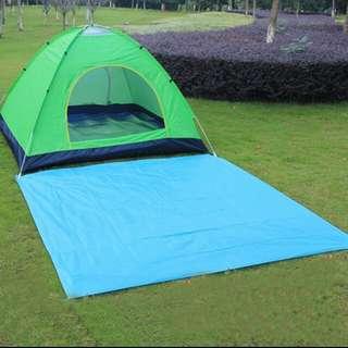 Portable Tarp Waterproof Outdoor Camping Mat Camping Mattress Tarpaulin Bay Play Sandbeach Picnic Barbecue Beach Mat