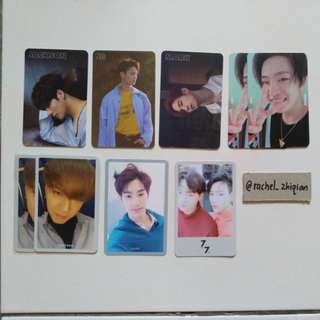 GOT7 7 FOR 7 OFFICIAL PHOTOCARD PRESENT EDITION