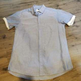 Light blue topman shirt