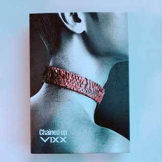 🚚 VIXX chained up 韓版control ver.(大小卡皆Leo)