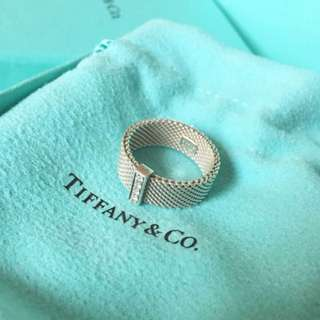 Authentic diamond Tiffany and co ring