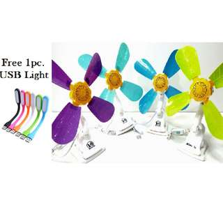 Portable Large Clip Electric Fan