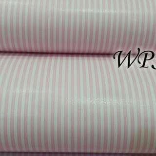 Wallpaper sticker salur pink