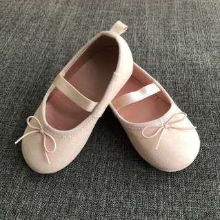 H&M Toddler Light Pink Flat Pumps