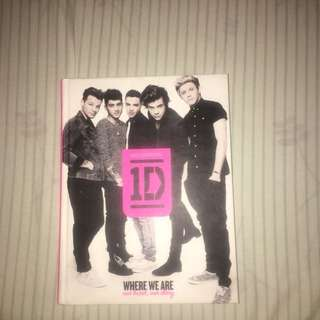1D where we are book