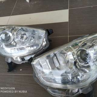 Head Lamp myvi siap tinted