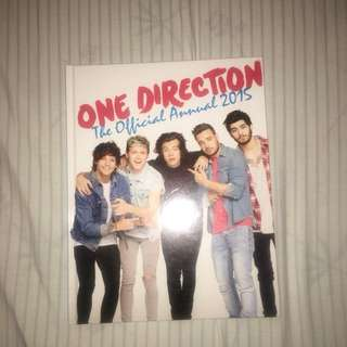 1D official annual 2015