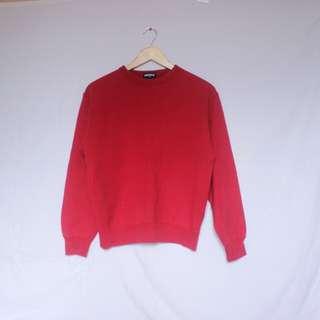 UNIQLO red pullover