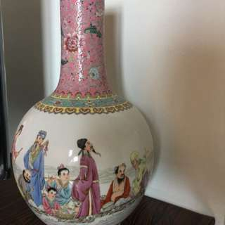 45cm porcelain vase