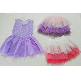 Tutu dress and skirts