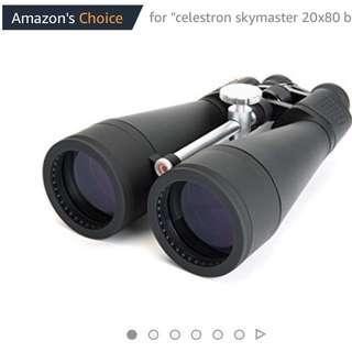 Celestron SkyMaster 20x80 mm Porro Binocular